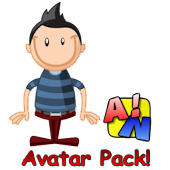 A!N Cartoon Avatars