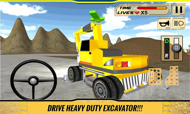 Sand-Excavator-Dump-Truck-Sim 17