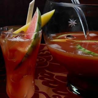 Watermelon Mango Rum Punch.