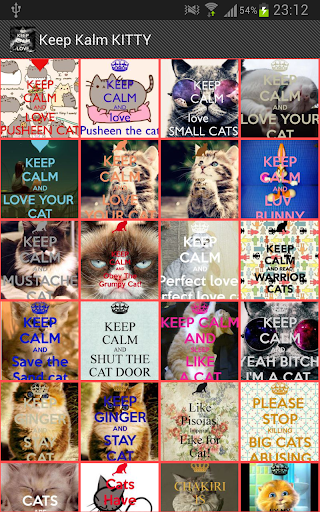 Keep Calm KITTY