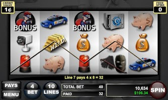Screenshot of Robbing For Riches
