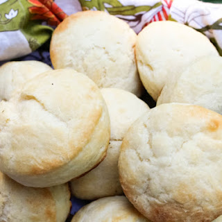 Pillowy (and Pretty) Yeasted Angel Biscuits.