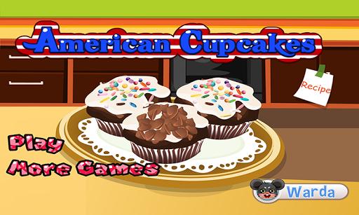 American Cupcakes - cake game