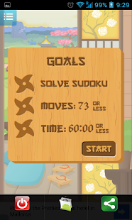 Samurai (Touch Sudoku) - screenshot thumbnail