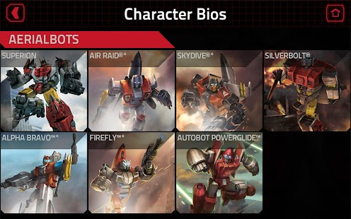 TRANSFORMERS Official App Screenshot 15