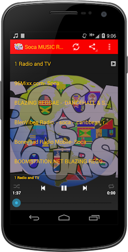 Soca Soul Calypso MUSIC Radio