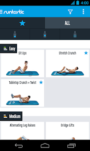 Runtastic Six Pack Abs Workout Pro v1.1  Mod APK 2