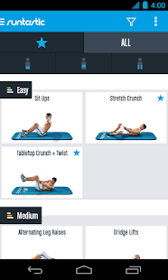 Runtastic Six Pack Ab Workout- screenshot thumbnail