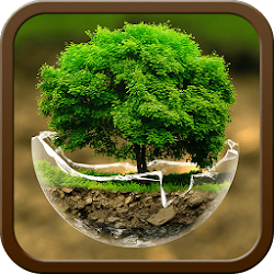 Green Nature HD Theme: Comic Android themes FREE