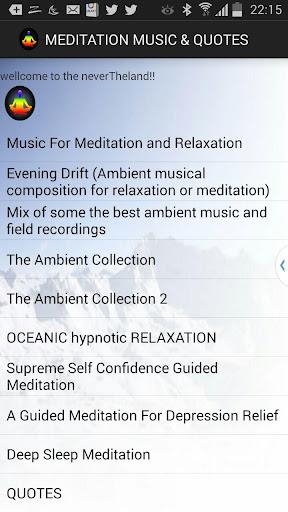 MEDITATION MUSIC QUOTES