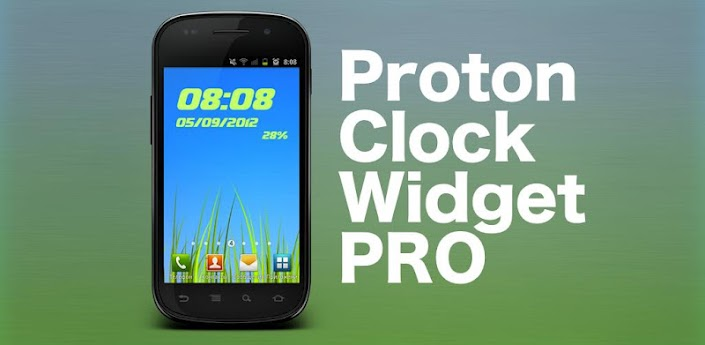 Proton Clock Widget Pro apk v1.2.1 download