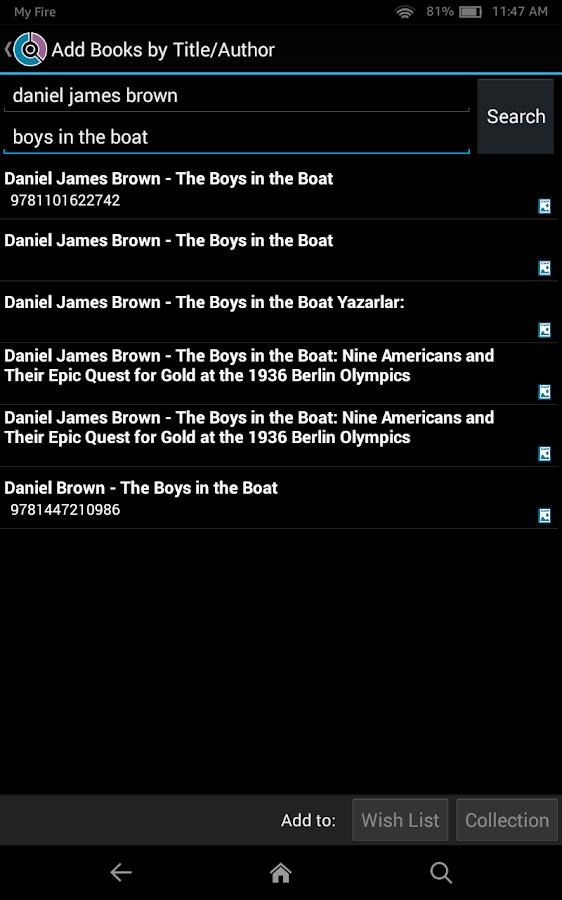 CLZ Books - Book Database- screenshot