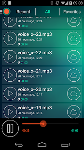 Voice Recorder - Dictaphone Screenshot