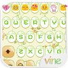Green Vine Emoji Keyboard Skin