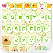 Green Vine Emoji Keyboard