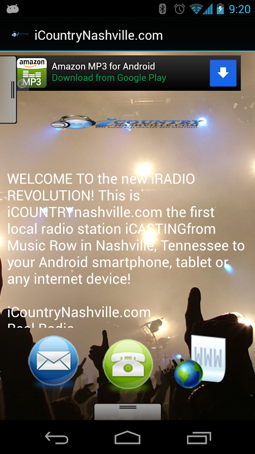 iCountryNashville.com - screenshot