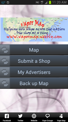 Vapor Map