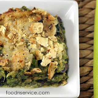 Broccoli & Mushroom Casserole
