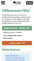 Screenshot of Linas Matkasse