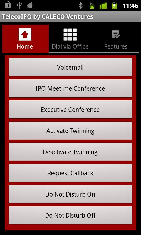 TelecoIPO by CALECO Ventures- screenshot