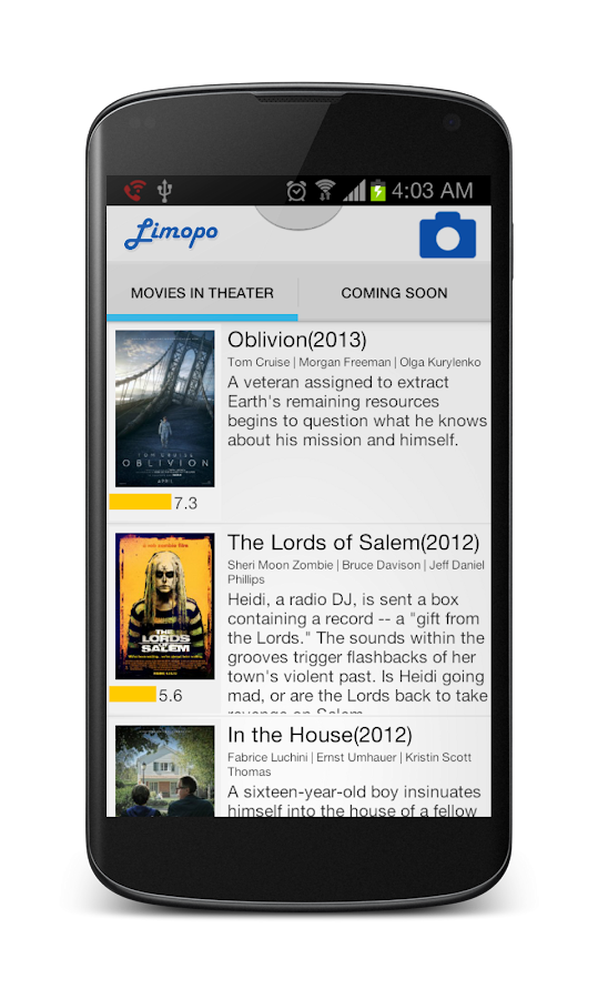 Limopo: Movies & Trailers - screenshot