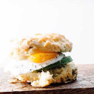 Mini Breakfast Biscuit Sandwich