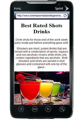 Best Rated Drink Shots