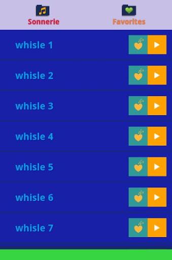 Sonnerie Whistle