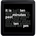Word Clock Watch Face icon