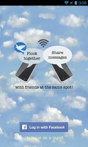 Flock Messenger