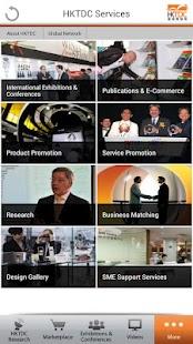 HKTDC Mobile- screenshot thumbnail