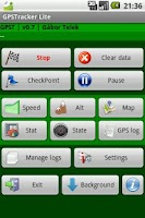 Screenshot of GPSTracker Lite old /API3 only