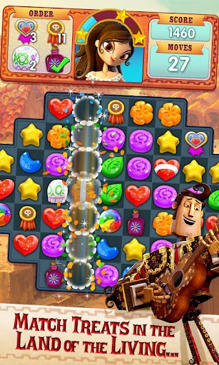 Sugar Smash: Book of Life - Free Match 3 Games.  mod screenshots 1