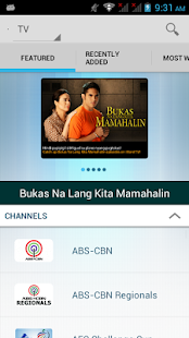 iWant TV for ABS-CBNmobile - screenshot thumbnail