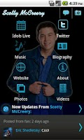 Screenshot of Scotty McCreery - Official
