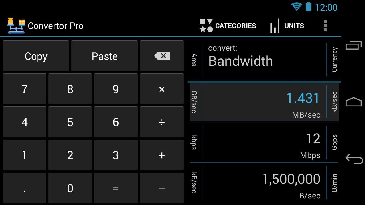Convertor Pro- screenshot