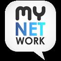 myNETwork (Facebook, Twitter) icon