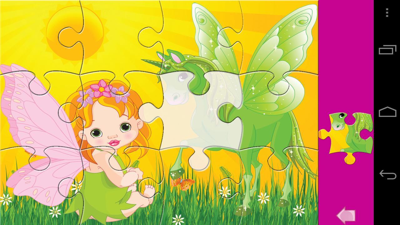 Kids Puzzle Princess Lite - screenshot