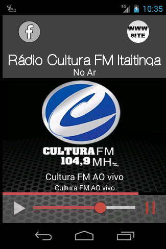 CULTURA FM ITAITINGA 104 9