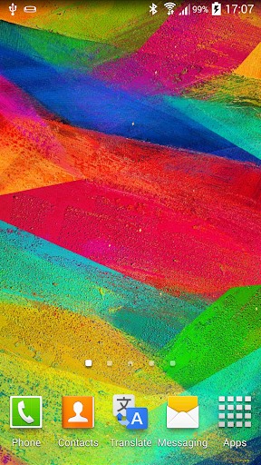 Galaxy Note 4 動畫壁紙