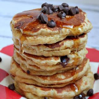 Fluffy Peanut Butter Pancakes.