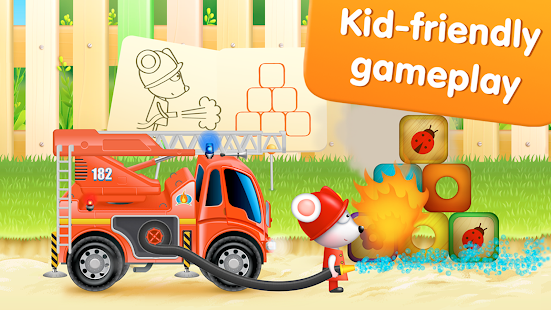 Firetrucks: rescue for kids Screenshot 12