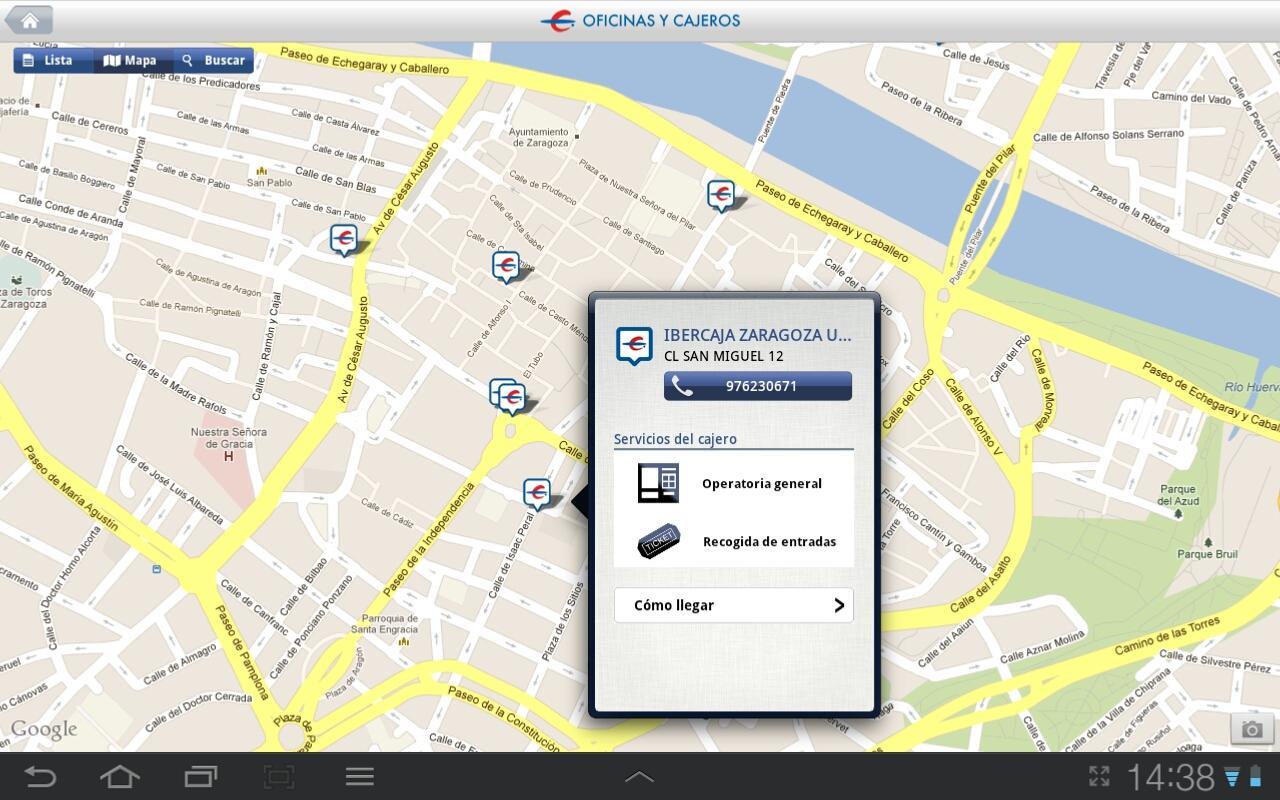 Ibercaja aplicaciones de android en google play for Ibercaja banco oficinas