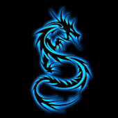 Blue Dragon 3D Live Wallpaper