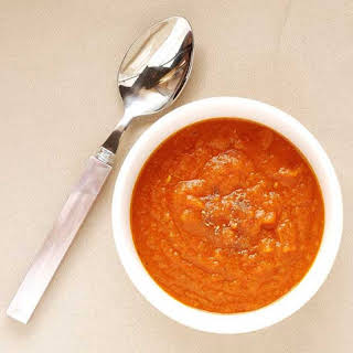 Butternut Squash and Tomato Soup.