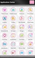 Screenshot of Beautiful Pink Polka Dot Theme