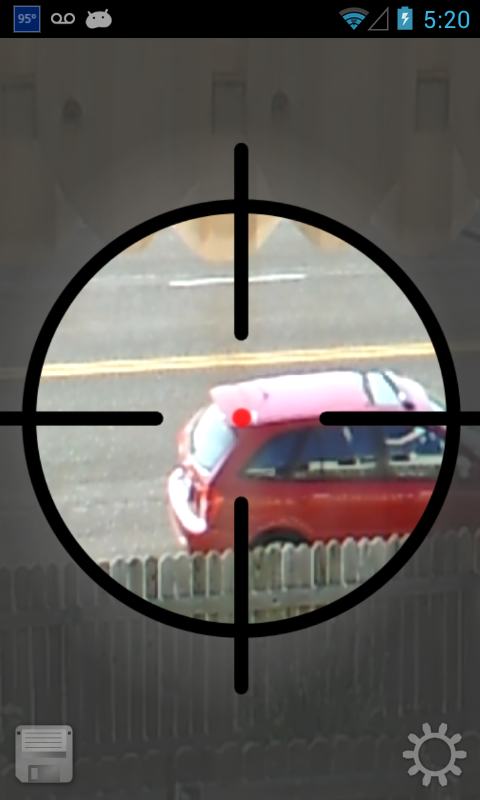 Sniper Scope Simulation - screenshot