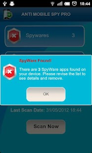 Anti Spy Mobile FREE Screenshot