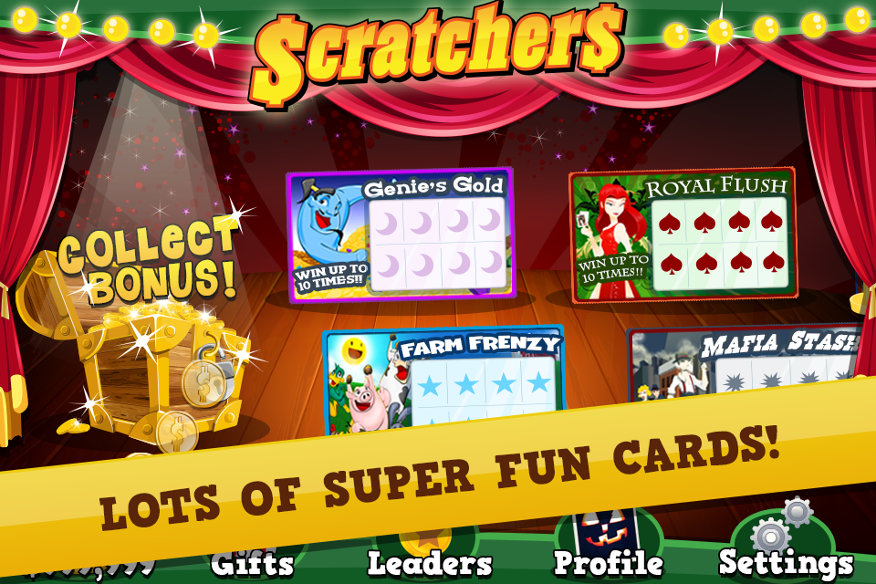 Scratch Off Lottery Tickets- screenshot