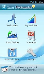 Smart Pedometer - screenshot thumbnail